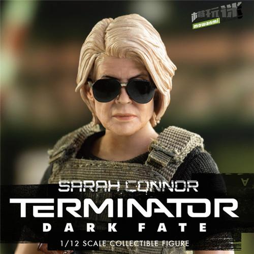THREEZERO公布《 终结者:黑暗命运》1/12的T800和莎拉康纳