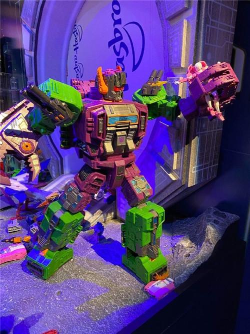 ToyFair2020:变形金刚Earthrise撒克巨人与tudio Series大力神实体图放出